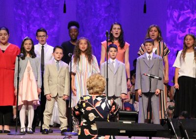 Easter Middle and High Choir